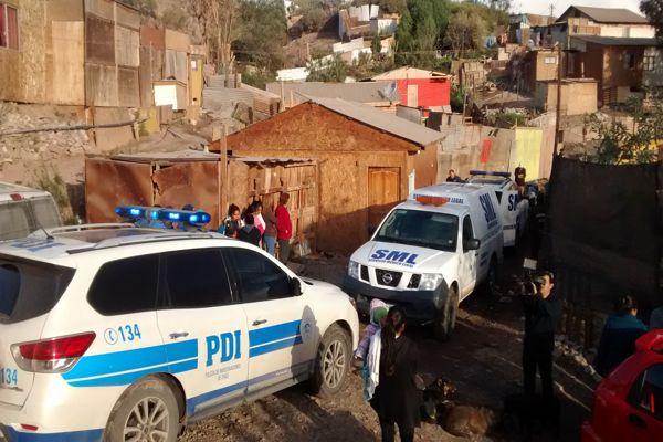 Brigada de homicidio investiga muerte de niña extranjera de 13 años en Copiapo