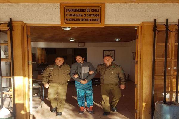Carabineros frustro robo en Diego de Almagro