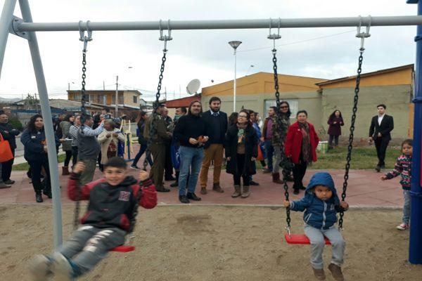Intendenta inaugura Plazoleta Padre Manolo en Huasco