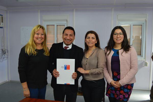 Concesión de uso gratuito permitirá ampliar los niveles de cobertura de la Escuela Ignacio Domeyko en Chañaral