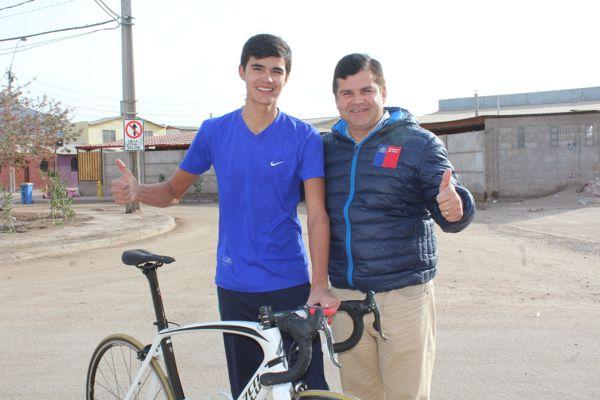 Ciclista José Autrán obtuvo el cuarto lugar en Panamericano Juvenil