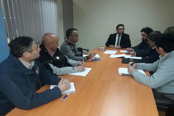 Presidente de arma sostuvo importante reunión con organismos de planificación del gobierno regional