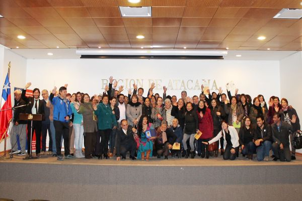 Gobierno reconoció labor de dirigentes sociales de Atacama