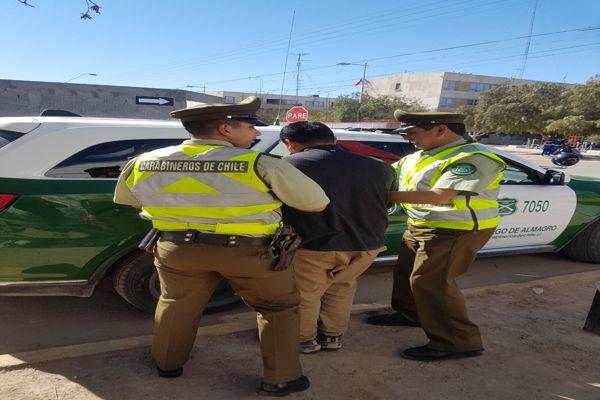 Prevención activa en Atacama dejo 15 detenidos por diferentes delitos