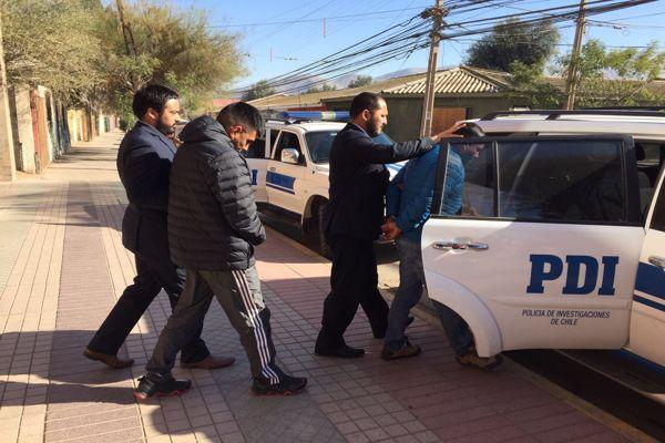 PDI detiene a imputados de homicidio ocurrido en local de comida rápida en Copiapo