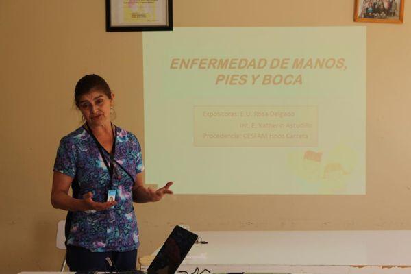 Jardín Infantil El Membrillar previene Síndrome Boca Mano Pie informando a su comunidad