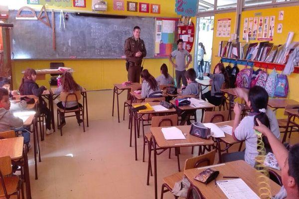 Jornada preventiva con escolares de Vallenar