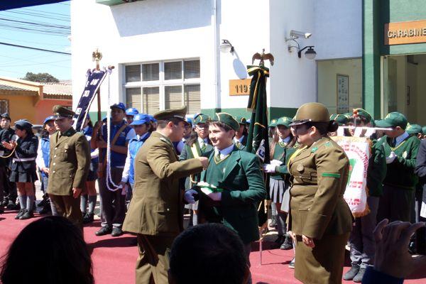 Estudiantes vallenarinos renovaron su juramento como Brigadistas