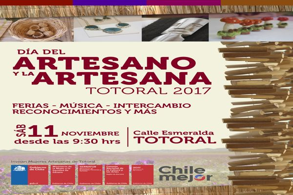 En Totoral se celebrará el Día del Artesano