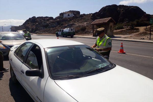En Huasco carabineros difunde medidas preventivas