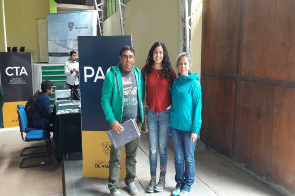 35 jóvenes beneficiados con Programa PACE estudian con gratuidad en Universidad de Atacama