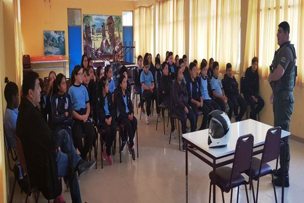En Chañaral carabineros continua con difusión de ley de responsabilidad penal