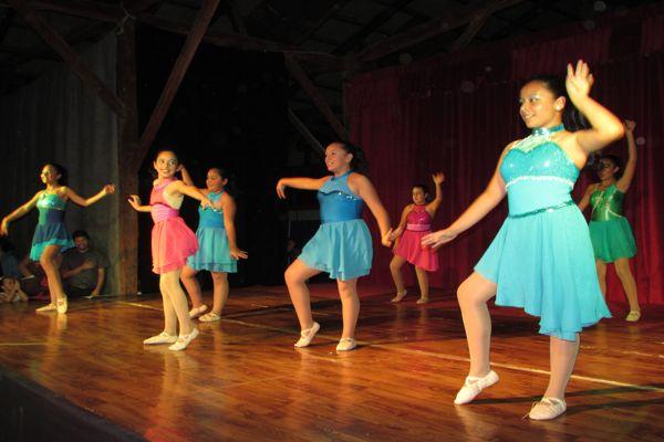 Caldera celebro el día de la danza