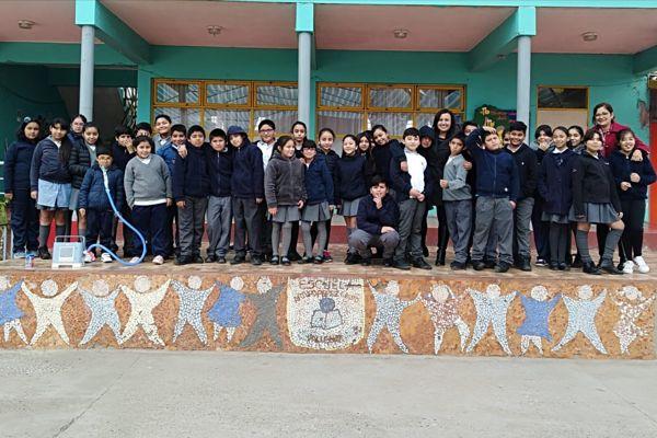 Jefa Provincial de Educación de Huasco destacó resultados del Simce de alumnos Escuela Arturo Pérez Canto