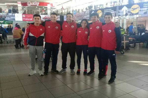Karatecas atacameños Ankar Alquinta y Francisco Pizarro competirán en Croacia