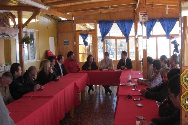 CONAF y autoridades locales exponen su postura al Core de Antofagasta