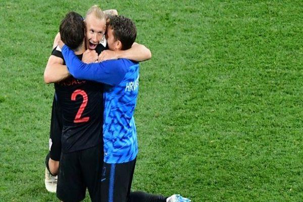 Jugador de Croacia insultado por Sampaoli: Solo vi a los argentinos caer al piso y llorar
