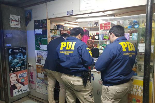 PDI realiza masivo operativo de fiscalización en Chañaral
