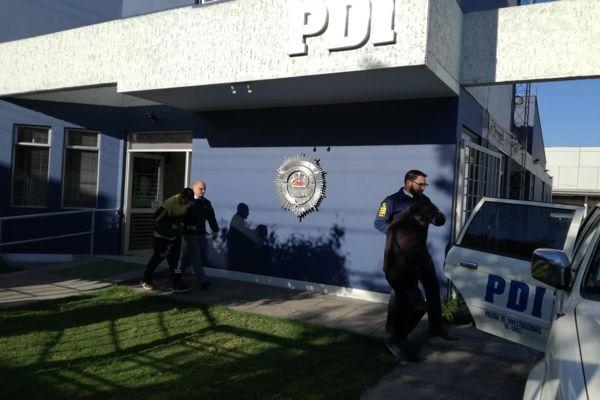 PDI detiene a cuatro personas por microtrafico en Vallenar