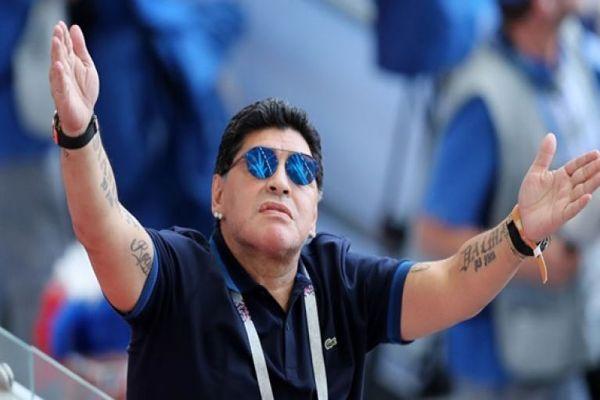 FIFA denunció a Maradona por 'insinuaciones' de 'robo' en partido Colombia-Inglaterra en Rusia