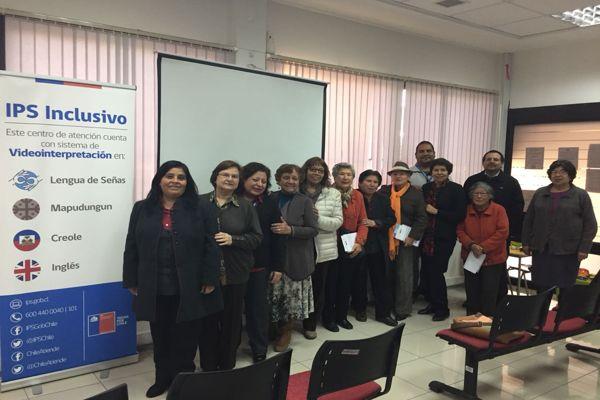IPS orienta a la Agrupación de Profesores Jubilados de Vallenar