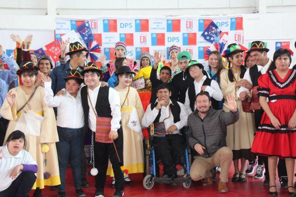 Talleres del Mindep dieron la bienvenida al 18 de septiembre