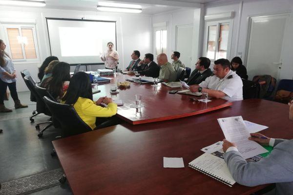 General Jorge Tobar participo en instalación del consejo comunal de seguridad publica en Chañaral
