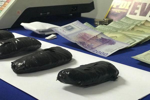 PDI detiene a dos personas por infracción a la ley de drogas
