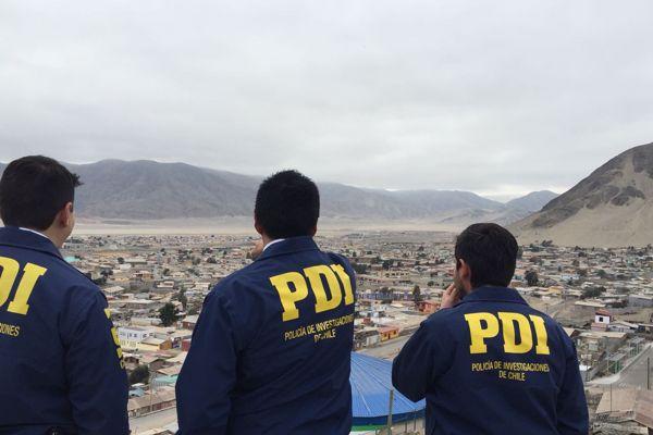 PDI detecta a inmigrante infringiendo la ley de extranjería en Diego de Almagro