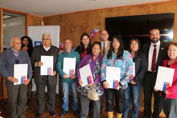 Calderinos reciben subsidio de mejoramiento de viviendas