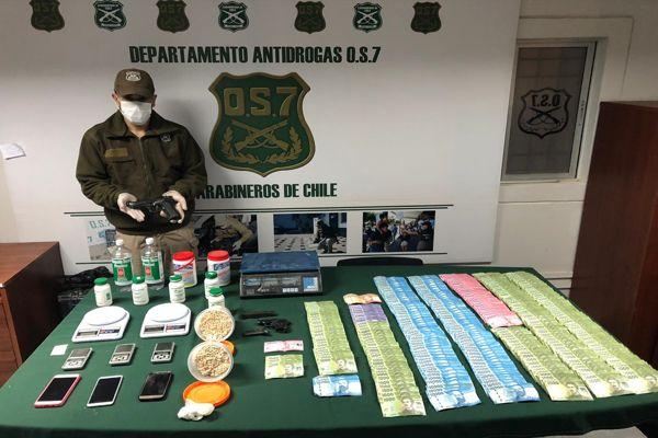 OS-7 Atacama desarticulo organización criminal dedicada al trafico de drogas