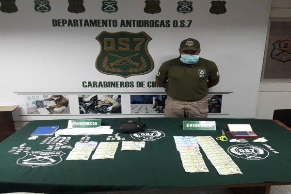 Operativo barrial del OS-7 Atacama dejo cinco detenidos