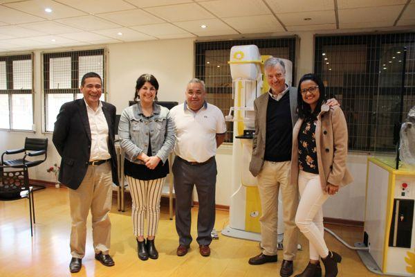 Minera Candelaria aporta moderno mamógrafo para CESFAM de Tierra Amarilla