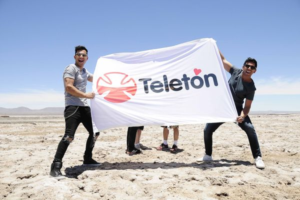 La Gira Teletón anuncia a los artistas que recorrerán el país la próxima semana