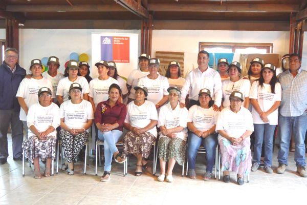 Comunidad Diaguita Clausuró  Proyecto del Fondo de Protección Ambiental en la Localidad del Transito- Alto del Carmen.