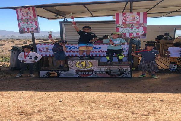 Piloto del Team Vallenar MX se tituló Campeón del Regional de la Serena.