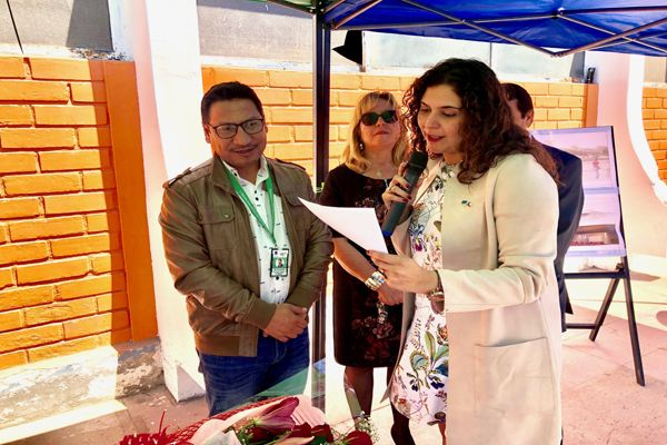Seremi Carla Guaita entrego consecion que permitirá reposición pos aluvión del centro cultural y la plaza ciudadana de Chañaral