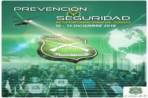 Carabineros realiza primer seminario regional con juntas de vecinos y organizaciones comunitarias funcionales