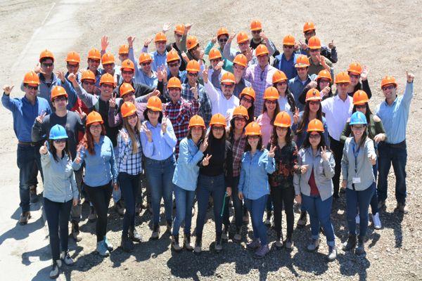 Minera Candelaria inició prácticas profesionales de verano