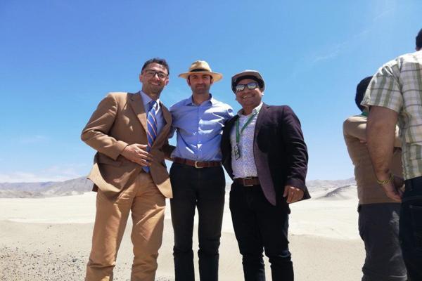 Autoridades de Atacama visitan terrenos del futuro Relleno Sanitario de Chañaral