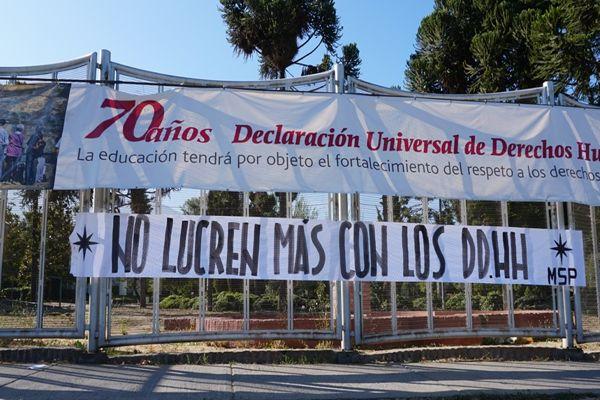 INDH condena nuevo ataque en contra de sitio de memoria Villa Grimaldi