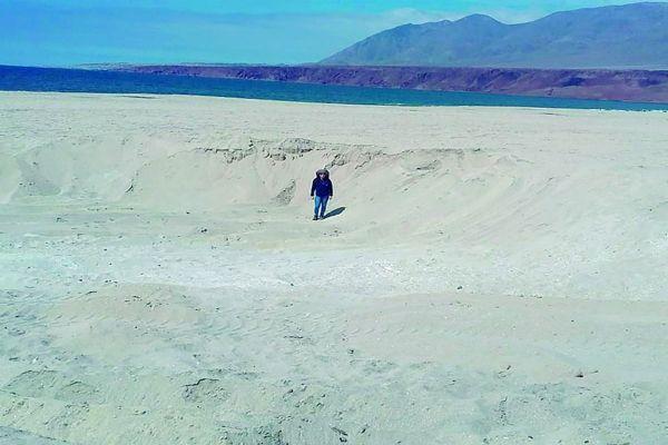 Seremi de Bienes Nacionales interpuso denuncia en Fiscalía por extracción ilegal de áridos en Antofagasta x