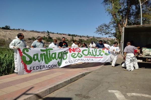 Regionalistas realizan exitoso operativo de limpieza en Vallenar