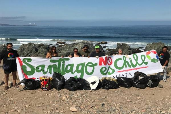 Segundo Operativo de limpieza desarrollaron regionalistas en la provincia del Huasco