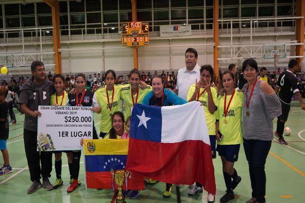 Saca Chispas se coronó campeón del Gigante del Baby Fútbol en Vallenar