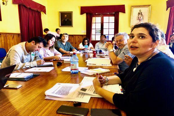 Seremi Carla Guaita expuso ante el Core avances del proceso de normalizacion del borde costero