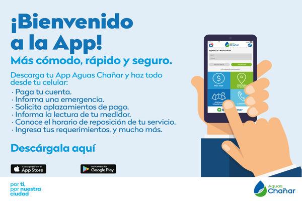Aguas Chañar lanzó moderna aplicación Mobile para mejorar la experiencia de sus clientes