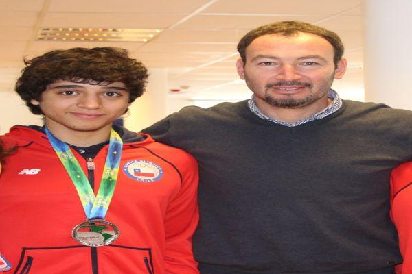Karateca Atacameño Matias Aguirre en el cuarto lugar del ranking mundial