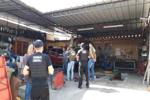 SEBV Atacama fiscaliza talleres mecánicos