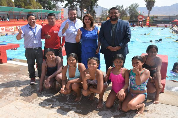 Gobierno Regional y Municipalidad reinauguran piscina olímpica de Copiapó